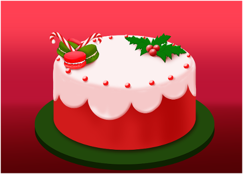 cake-christmas-red-cake-sweet-4669890