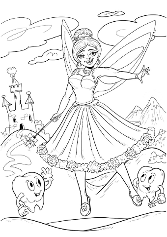 tooth-fairy-drawing-sketch-tooth-4647417