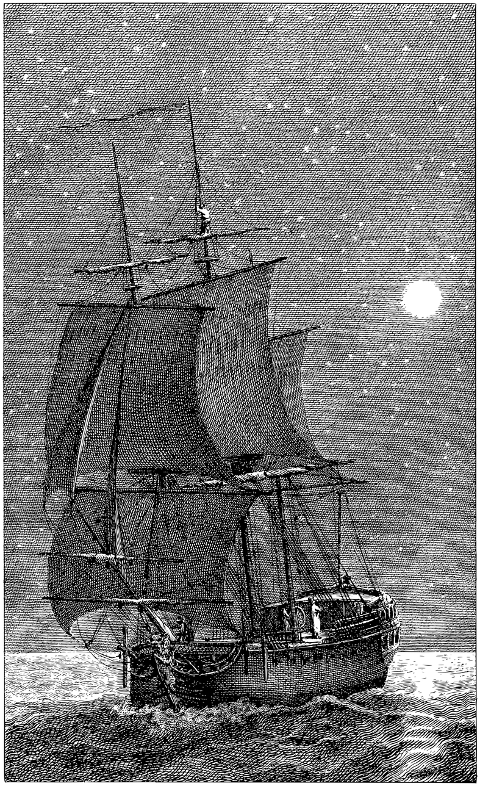 ship-night-line-art-sailing-sea-5962489