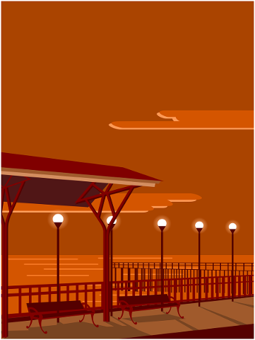 station-platform-seaside-landscape-5011733