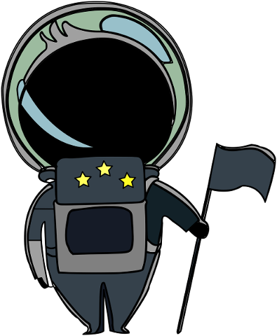 astronaut-man-flag-drawing-5743702