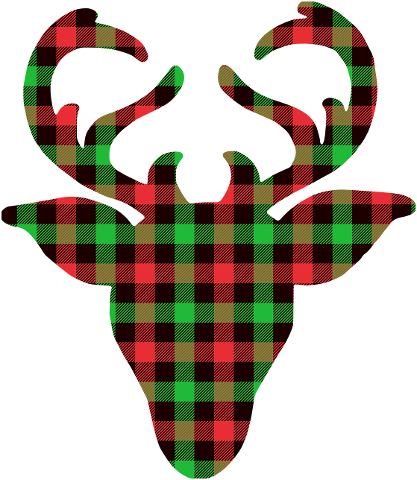 buffalo-plaid-deer-deer-holiday-4600814