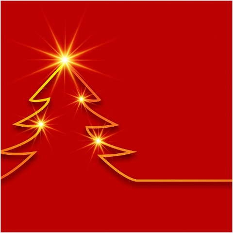 red-christmas-background-gold-stars-4515496