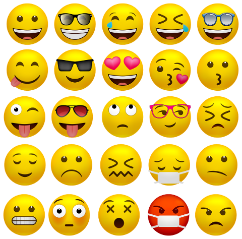 emoticons-happy-faces-covid-19-mask-5102705