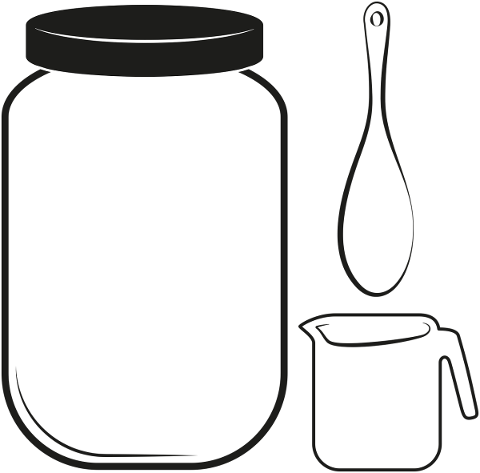 kitchen-spoon-jar-measuring-cup-4928639