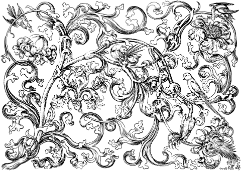 birds-flowers-branches-line-art-5952464