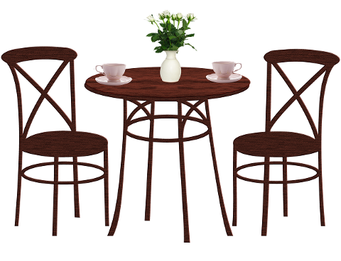dining-table-chairs-coffee-flowers-4462069