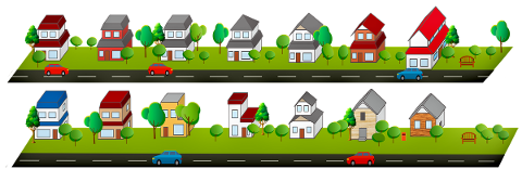 houses-clipart-road-trees-4918321