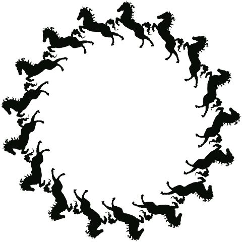 horse-frame-round-silhouette-6028969