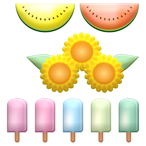 watermelon-popsicles-sunflowers-5102720