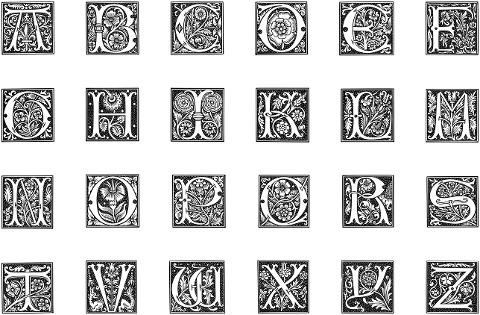 alphabet-font-line-art-english-5975291