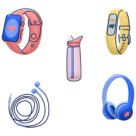 workout-items-apple-watch-headphones-4963663