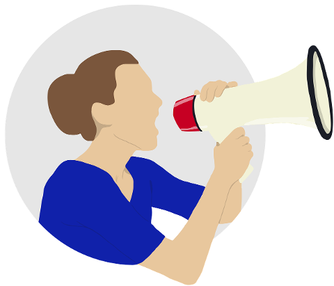 woman-megaphone-yell-speaking-4370509