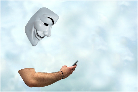man-anonymous-phone-mask-arm-6130384