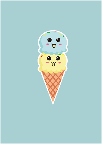 summer-cold-drinks-ice-cream-cute-5111185