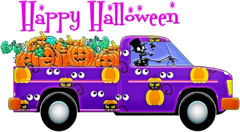 halloween-truck-pick-up-truck-party-4393958