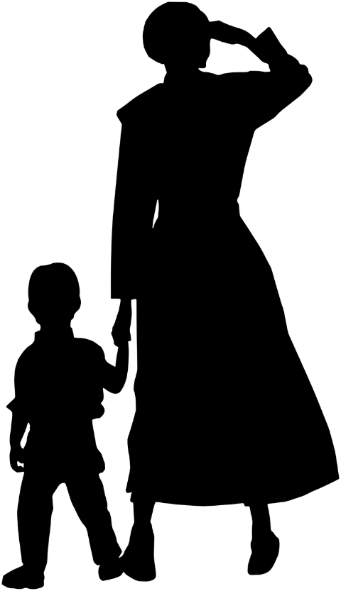 mother-son-silhouette-walk-walking-6008032