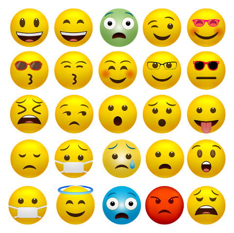 emoticons-happy-faces-covid-19-mask-5102707