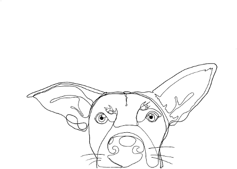 dog-easter-one-line-illustration-4314604