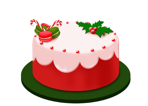 cake-christmas-red-cake-sweet-4669895