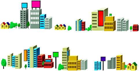 isometric-buildings-houses-signs-4321809