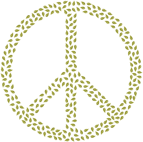 peace-sign-leaves-symbol-greenery-5617022