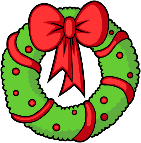 wreath-advent-christmas-ribbon-bow-5824508
