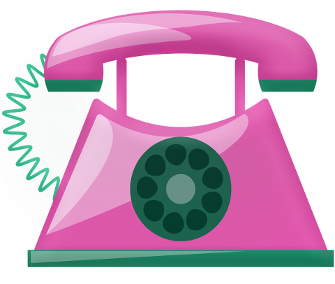 pink-telephone-retro-communication-4660791