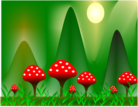 mushrooms-nature-forest-moss-red-4494914