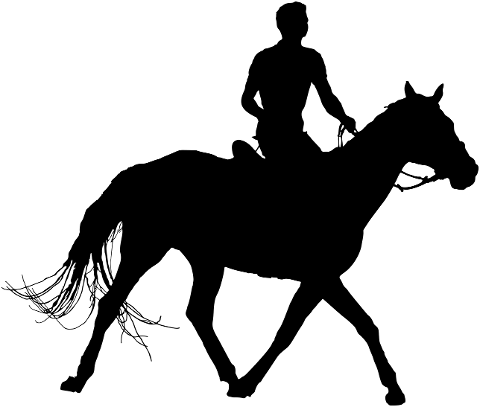 horse-riding-silhouette-man-animal-4236399