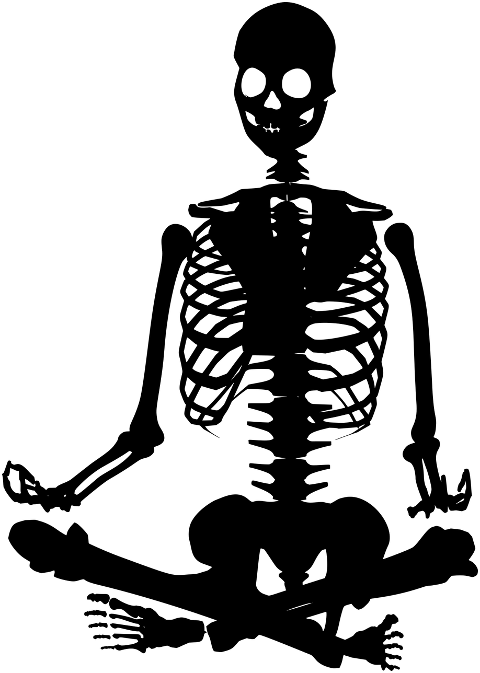 skeleton-meditation-silhouette-6028880